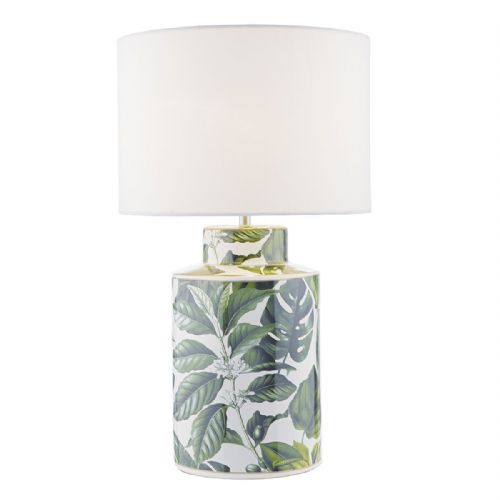 Filip Table Lamp Green Leaf Base Only